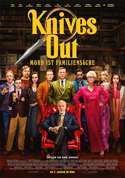 Knives out - Plakat