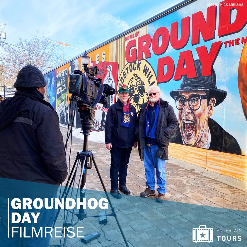 Groundhog Day Filmreise