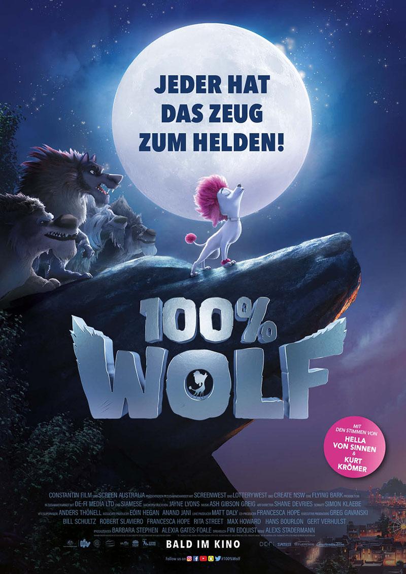Plakat - 100 PROZENT WOLF