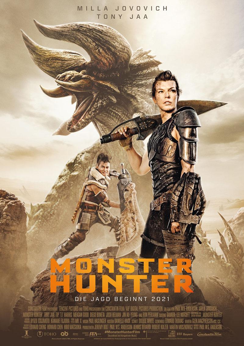 Monster Hunter - Hauptplakat